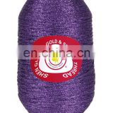 crochet knitting metallic yarns thread