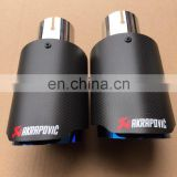 Akrapovic Stainless Steel Exhaust pipe akrapovic muffler tips for car muffler