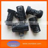Hot magic rod rollers for hair