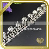 Elegant clear bead crystal stone cup chain acrylic rhinestone chain FC608                                                                         Quality Choice                                                                     Supplier's Choice