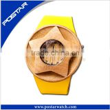 Hot Sale Handcrafted Wood Original Grain Watches With Band Custom Logo Digital Design