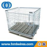Supermarket stackable wire mesh pallet cage                                                                                                         Supplier's Choice
