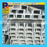 SS400 C Channel Pipe Steel Price