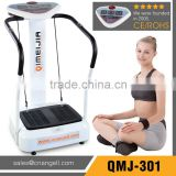 Fitness crazy fit massage vibration platform with spring rope