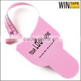 Pink unique design promotional gift environment-friendly measuring tape waist measuring tool