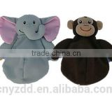 Plush Cover for Cool Pack/Soft Animal Shaped Cover of Cold Bag