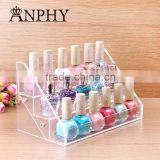 C63 ANPHY Nail Polish Rack Promotion For Nail Polish Store Makeup Promotion Gift Quality Crystal Cosmetic Gift Customize logo ok