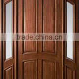 Prehung Exterior solid wood entry Double Door ET-US10