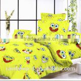 Soft touch 100% cotton 143tc/180tc/200tc for chilidren printed bedding set/duvet cover/flat sheet/pillow case