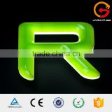 Made to order illuminated signage letters 3d letter sign waterproof acrylic mini led letters