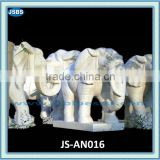 Marble carving of elephant statue