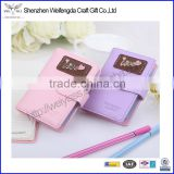 Sweet love letter mini credit card holder for pretty girl                                                                         Quality Choice