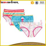 3 pcs set customized printing boy girl kids underwear models                                                                         Quality Choice