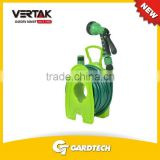 Adjustable 10M garden hose reel set ,Anti-Corrosion hose reel set with soft handle,Freestanding hose cart for 10M hose