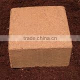 unwashed coir pith block for animal bedding
