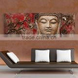 best seller oil on canvas 100% handpainted buddha abstract oil paintings                                                                         Quality Choice