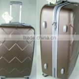 new design 3pcs ABS PC trolley baggage set
