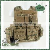 ITALY TOP 5 Military Armour Plate Carrier Vest Multicamo