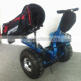 New arrival golf cart ,two wheel self balancing electric scooter with golf bag carrier bracket,