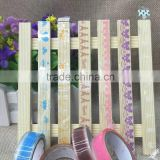 Cute little pure and fresh and transparent tape lace small roll of duct tape DIY stickers