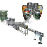 Aluminium POP-TOP can filling line,beer canning line,canning production line
