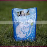 With 10 years manufacturer experience factory supply silica gel cat litter 1.8kg/bag 3.6kg/bag 15kg/bag                                                                         Quality Choice