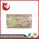 Laser cutting innovative stainless steel birthday gift card cheap                                                                                                         Supplier's Choice