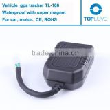 Factory waterproof car gps tracker, cheap bicycle gps tracker for bicycle/motor/car, cheap gps tracker TL-106