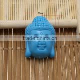 carved buddhism jewjelry flat back buddha resin cabochon