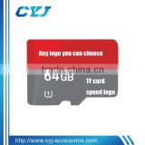 TF memory card in class 10 with 100% original chip 1 year warranty