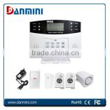 Danmini Wireless LCD GSM ALARM SYSTEM Home Security Burglar House Auto Dialer GSM ALARM SYSTEM