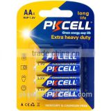 Primary & Dry Batteries 1.5V R6P aa size dry cell battery um-3 super heavy duty battery 105min duration time