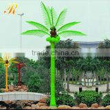 Outdoor hanging led flower palm tree light