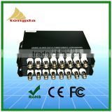 Atongda high quality Optical Extender 8 channel BNC digital fiber optic cctv video converter