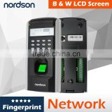 2016 China Nordson Biometric safe lock FR-F7 TCP/ IP communication project hot finger prints Access control system                                                                         Quality Choice