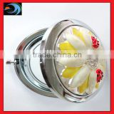 Fashion lovely flower pattern pocket mirrors cosmetic(LD-48)
