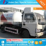 Manufacturer used 2.3 Tons LPG Bobtail Road Tanker trucks for sale