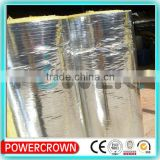foil faced thermal insulation glass wool roll made in china