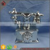 electroplate ceramic arts and crafts antique telephones                                                                         Quality Choice