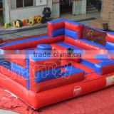 inflatable jousting arena / gladiator duel arena / inflatable jousting game