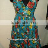 Women Print Floral Dresses Maxi Dresses / Adults Age Group and Satin Fabric Type Bodycon Cocktail Dress