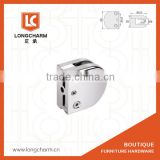 Balustrade Fittings glass clamp glass clip from longcharm furniture hardware glass clamp factory