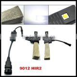 9012/HIR2 Plug & Play 40W 5000LM LED Headlight Kit Car Driving Fog Lamp Bulbs 6000K White Automotive DRL Car Light Source