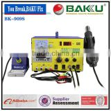 BAKU BK-909S new design with power supply digital display 3 in 1 hot air soldering rework station