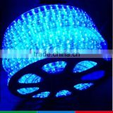 outdoor christmas decorative blue round rope light