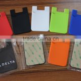 cell phone 3m sticker silicone smartphone wallet and case