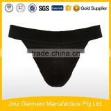hot sale cotton elastane men sexy briefs in black g-string for men