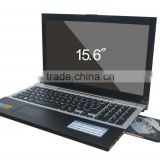 15.6inch laptop notebook PC computer with DVD/CD RW drive intel processor CPU
