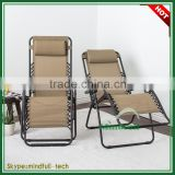 OEM Wholesale Cheap Outdoor Garden Chair Zero Gravity Folding Metal Deck Chair