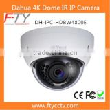 Top Ten Video Surveillance Dahua IPC-HDBW4800E 4K Outside IR Dome Camera IP